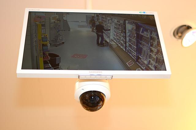 מצלמת אבטחה לעסק