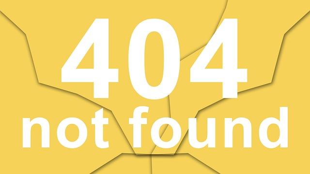 Photo of שגיאה 404 – מה זה ואיך מומלץ לטפל בה?